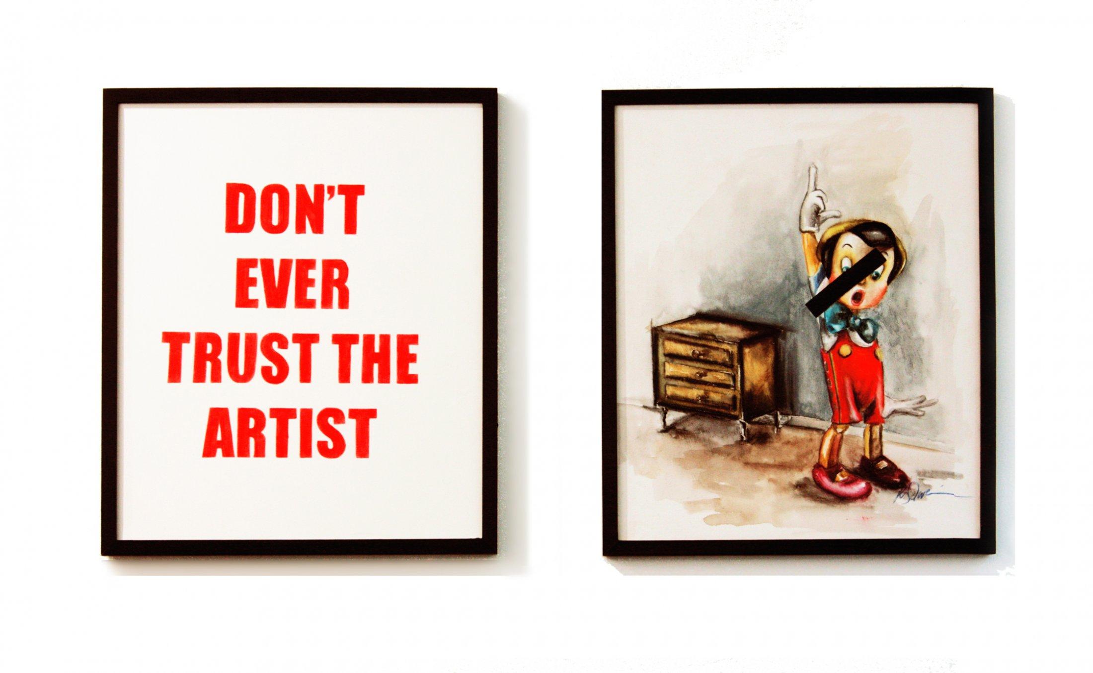 dont trust the artist