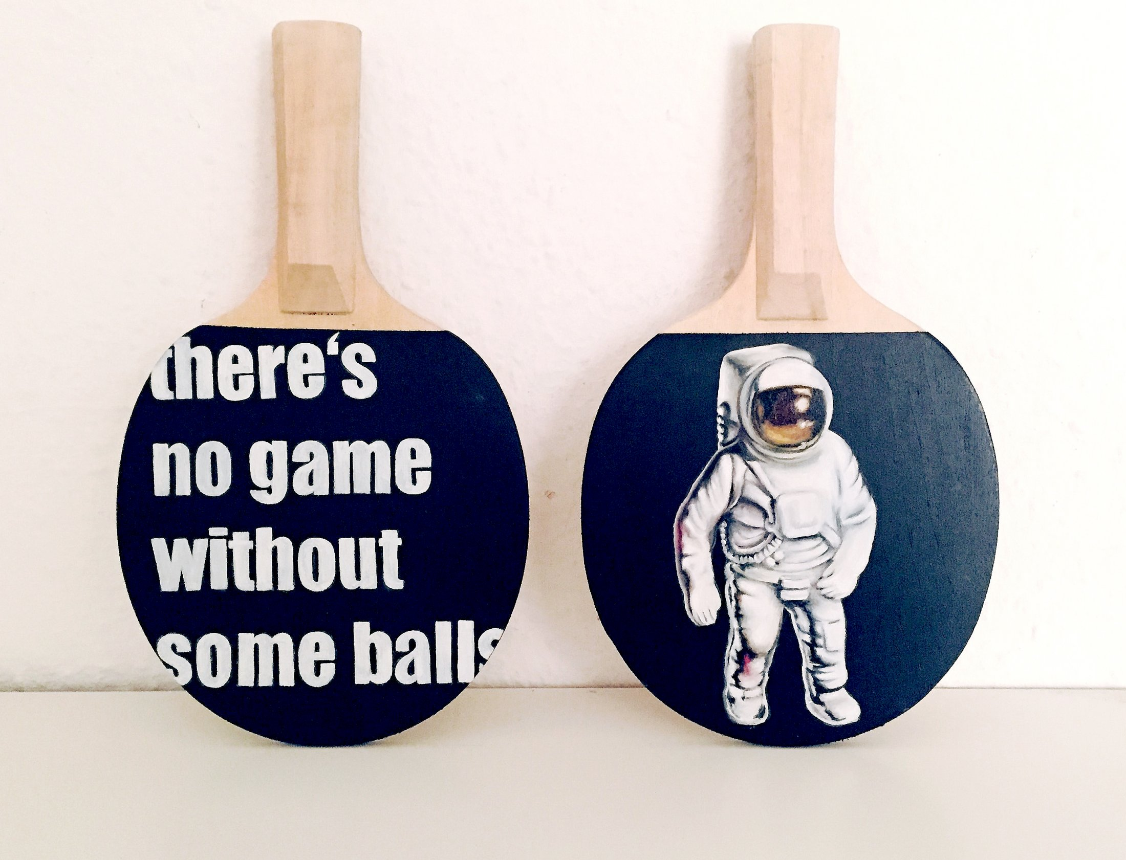 There's no game without some balls