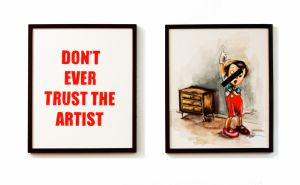 dont trust the artist
